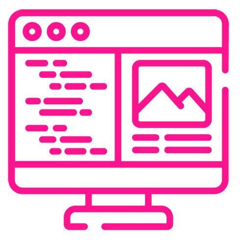 Icono Rosa Desarrollo Web