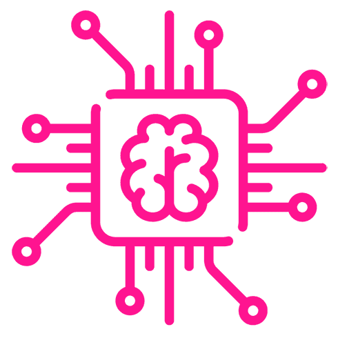 Icono Rosa Inteligencia Artificial