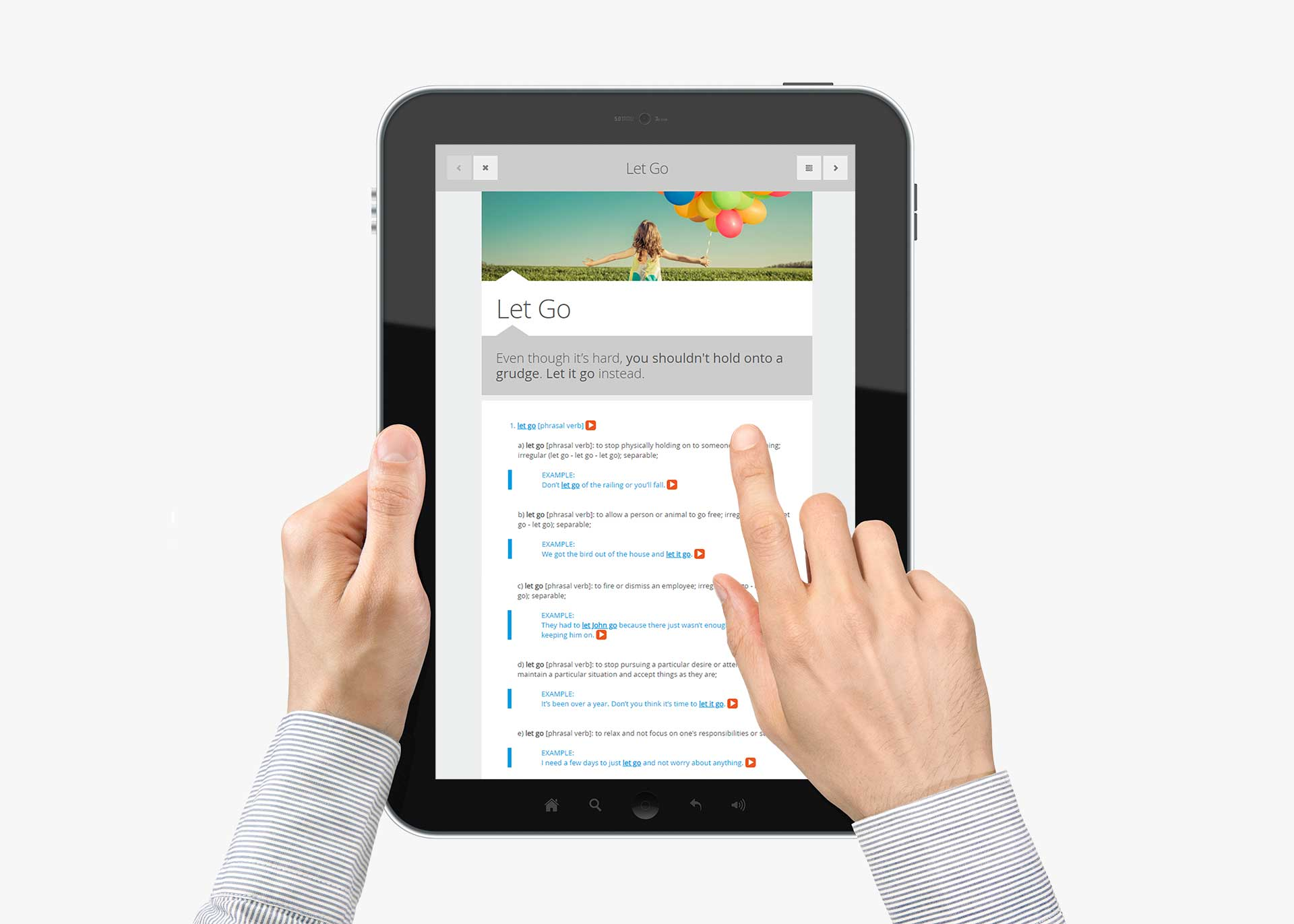 Ivory: Proyecto Language Center para Astex - Versión tablet
