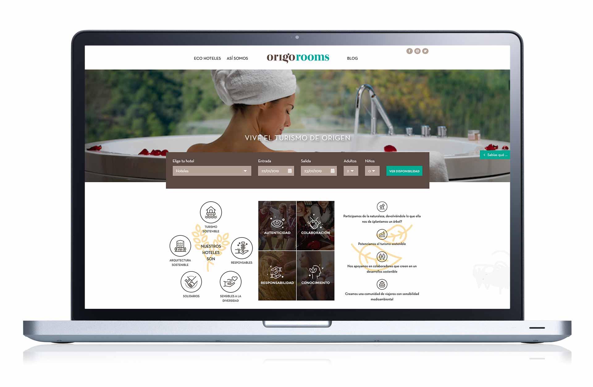Ivory: Proyecto Origorooms versión ordenador