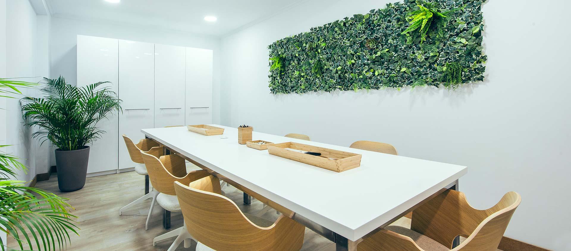 Sala de reuniones de Ivory Soluciones