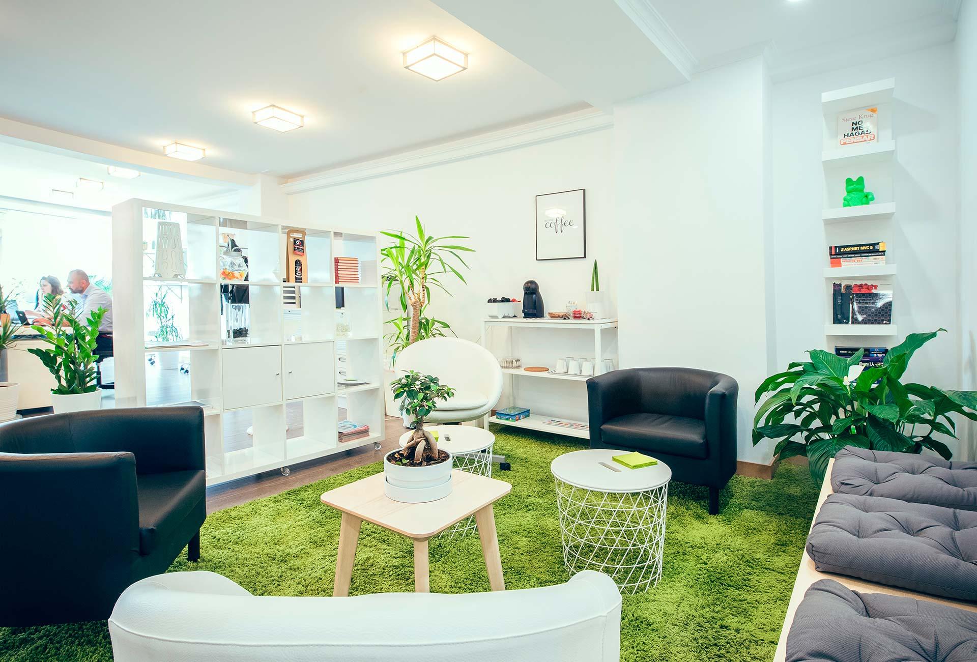 Sala de café y descanso de Ivory Soluciones